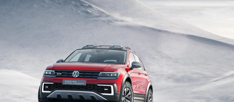 Tiguan GTE Active – nowy koncept VW