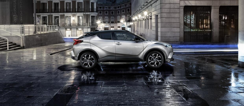 Toyota C-HR w pełnej krasie