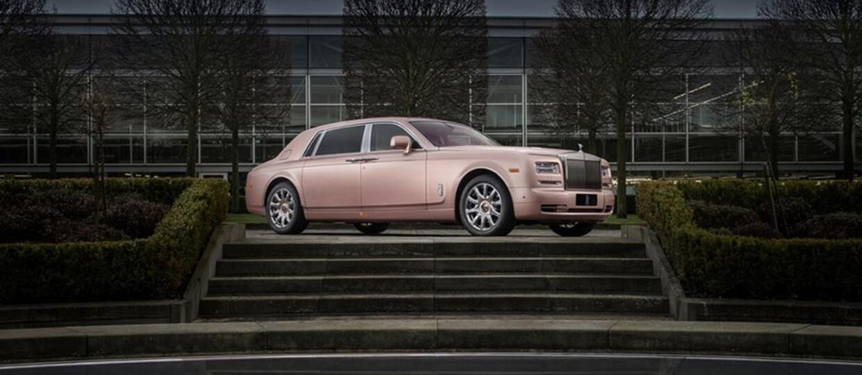 Unikatowy Rolls-Royce Sunrise Phantom
