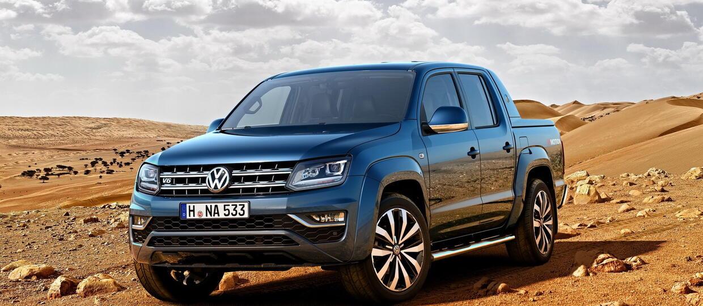 VW Amarok otrzyma 6-cylindrowego turbodiesla