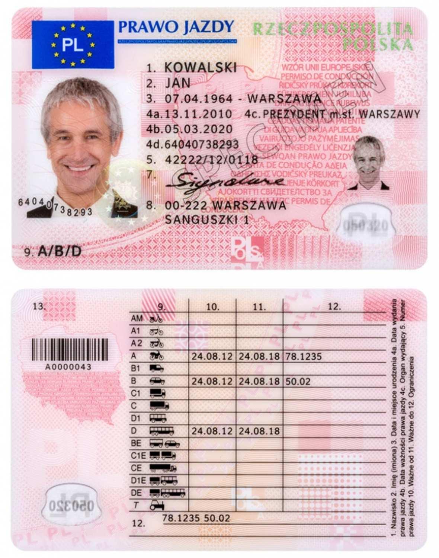 Wymagane nowe zdjęcia do prawa jazdy