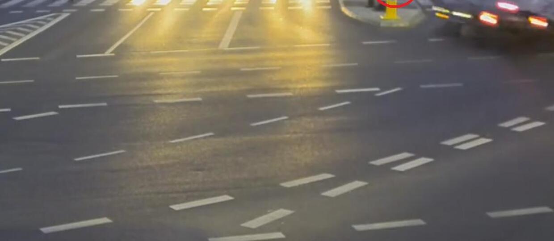 Wypadek uratował rowerzystę przed śmiercią