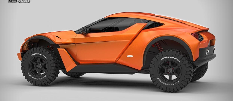 Zarooq Sand Racer – nowe auto off-roadowe