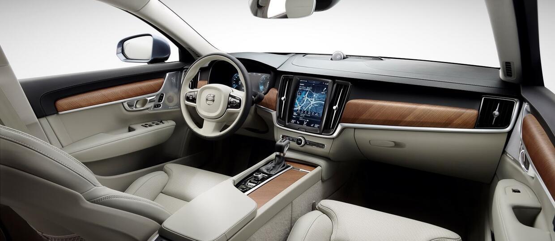 Zobacz wnętrze Volvo S90