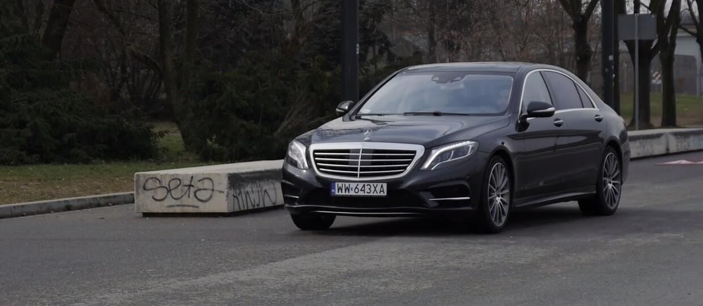 Mercedes S 500 e L [TEST]