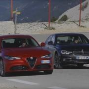 Alfa Romeo Giulia vs BMW serii 3