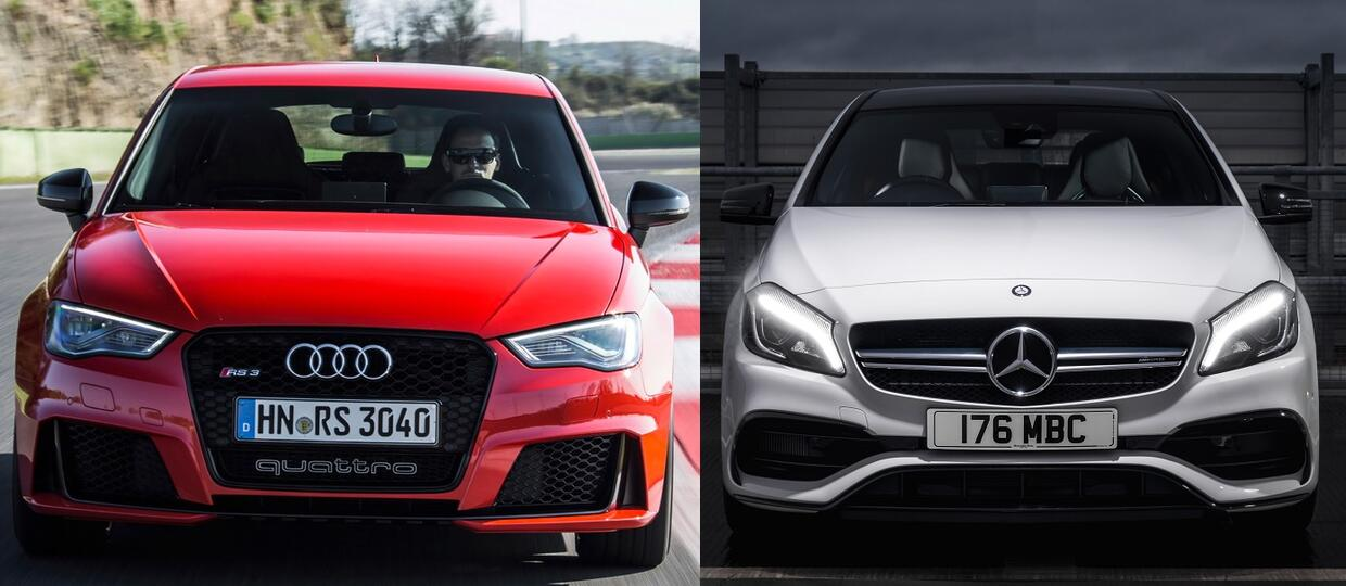 Audi RS3 vs Mercedes-AMG A 45