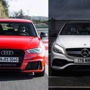 Audi RS3 vs Mercedes-AMG A 45