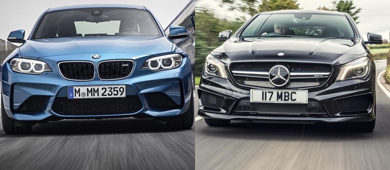 BMW M2 vs Mercedes-AMG CLA 45