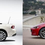 Mazda MX-5 vs Fiat 124 Spider