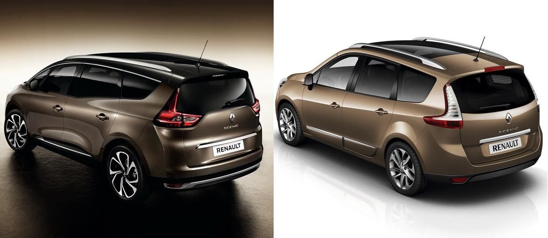 Renault Grand Scenic IV vs Grand Scenic III