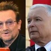 Bono zemścił się na Jarosławie Kaczyńskim