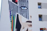 Mural Davida Bowiego powstał w Warszawie