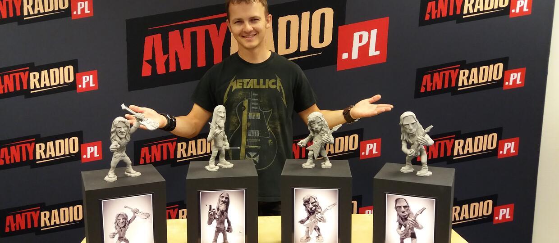 Polscy fani zrobili figurki muzyków Megadeth