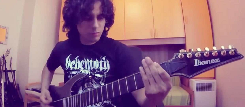 10 metalowych utworów zagranych na jednej strunie