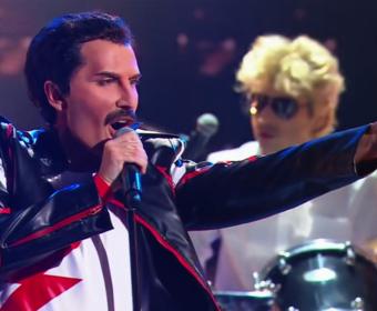 10 uczestników talent show wykonujących Queen