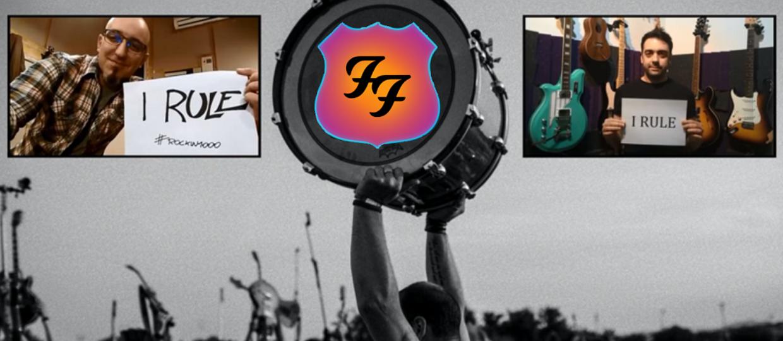 """1000 fanów Foo Fighters w utworze """"Saint Cecilia"""""""