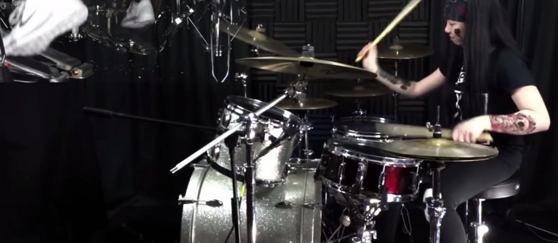 13-letnia perkusistka w utworze Meshuggah