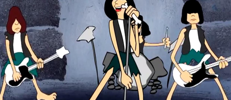 5 animowanych klipów do utworów Ramones