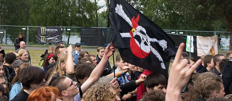 5 zespołów, którym wydaje się, że są piratami