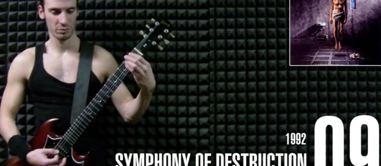 50 riffów Megadeth w 11 minut