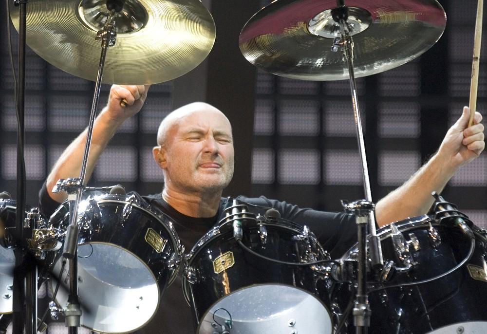 Phil Collins I 70 Minut Perkusji Z In The Air Tonight