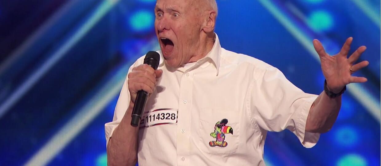 82-latek zaśpiewał utwór Drowning Pool w talent show