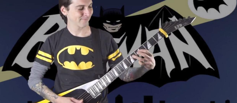 A gdyby Batman grał metal?