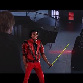 A gdyby miecz świetlny wydawał dźwięki jak Michael Jackson?