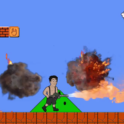 A gdyby Till Lindemann zastąpił Mario w grze komputerowej?