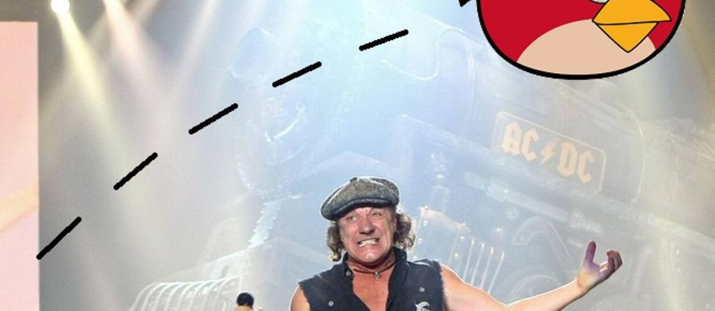 AC/DC na platynowej płycie jako Angry Birds!