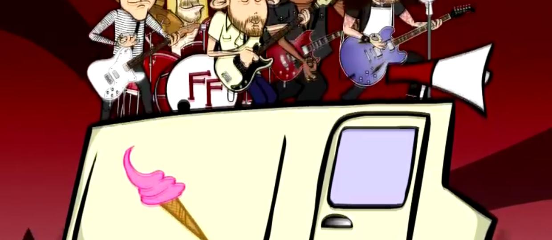"""Animowani muzycy Foo Fighters w klipie do """"Savior Breath"""""""