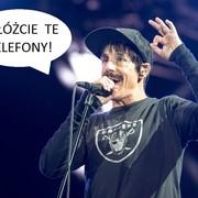 Anthony Kiedis też nie lubi komórek na koncertach