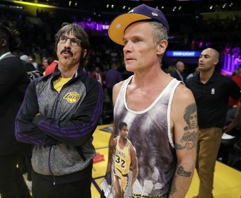 Anthony Kiedis i Flea