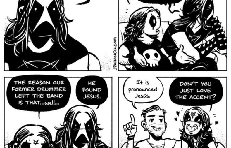 Belzebubs, czyli komiksowe przygody blackmetalowej rodzinki