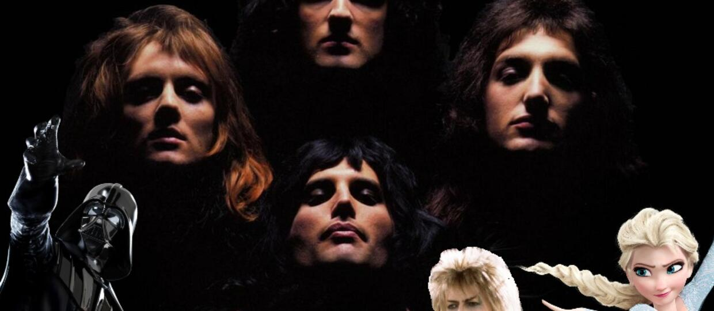 """""""Bohemian Rhapsody"""" wykonany przez 260 filmów"""