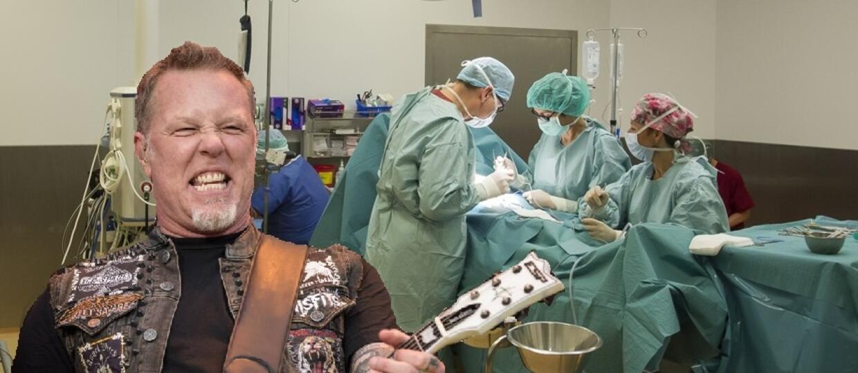 Chirurdzy podczas operacji słuchają rocka