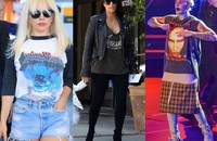 Kim Kardashian, Lady Gaga, Justin Bieber