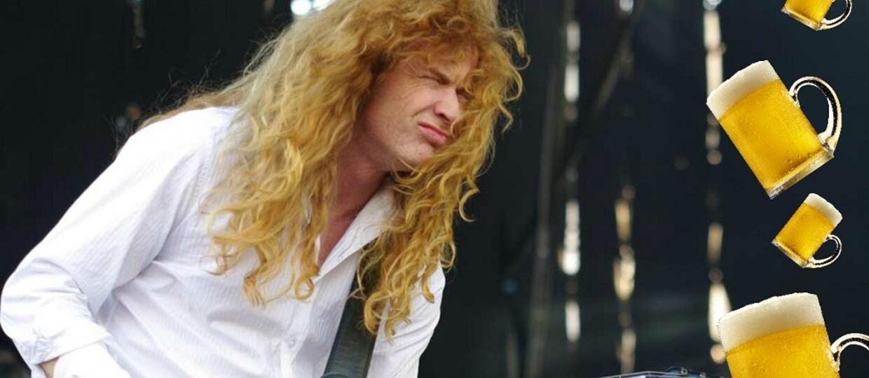 Czego Dave Mustaine nie lubi w piwach?