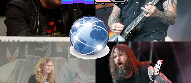 """Czemu """"Wielka Czwórka Thrash Metalu"""" nie lubi internetu?"""