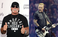 Czy James Hetfield zmienia się w Hulka Hogana?