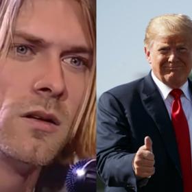Kurt Cobain/Donald Trump