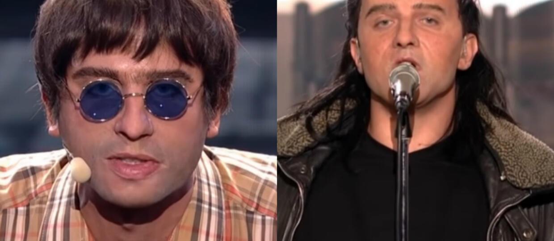Twoja Twarz Brzmi Znajomo: Bono i Liam Gallagher