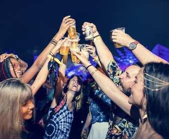 Alkohol na koncercie
