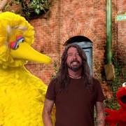 Dave Grohl w Ulicy Sezamkowej