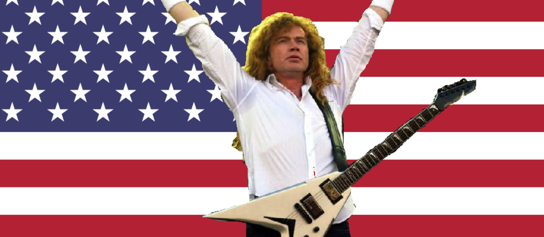 Dave Mustaine na prezydenta!