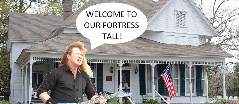 Dave Mustaine zaprasza Cię do swojego domu