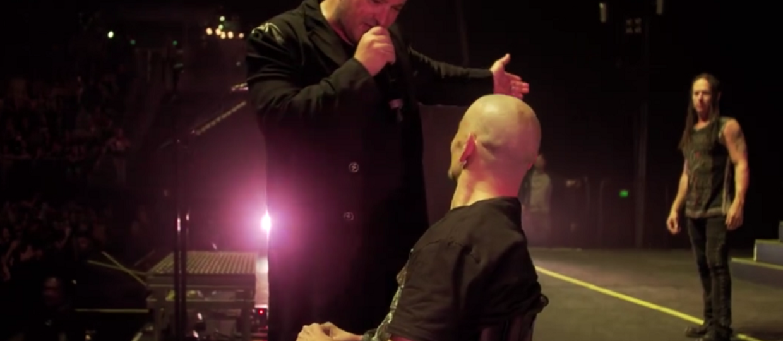 Disturbed zaprosił niepełnosprawnego fana na scenę