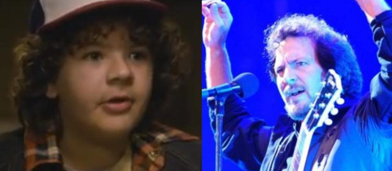 "Dustin ze ""Stranger Things"" w coverze ""Porch"" Pearl Jam"