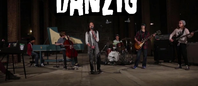 Dziecięcy cover utworu Danziga